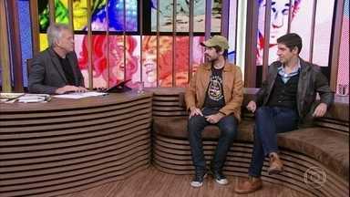 Gabriel Bá e Fábio Moon falam sobre inspirações para o desenho - Os gêmeos premiados explicam que início de todo mundo para desenhar é copiar o que se gosta