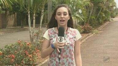 EPTV na Escola: Veja a história da redação de Nova Europa que ficou em 10º lugar - A estudante Amanda narrou a reportagem.