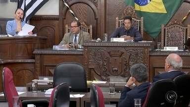 Veja o resumo da sessão da Câmara de Vereadores de Bauru - Os vereadores de Bauru aprovaram na sessão desta segunda-feira os projetos de lei que vão permitir ajustes no orçamento da prefeitura. A sessão também foi marcada pela discussão do plano de manejo da área de preservação ambiental da Água Parada.