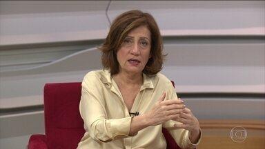 Miriam Leitão comenta a situação econômica do país - Na sexta-feira (1º), sai o número do PIB, o conjunto de bens e serviços produzidos pelo país, do terceiro trimestre. A comentarista Miriam Leitão fala sobre o assunto.