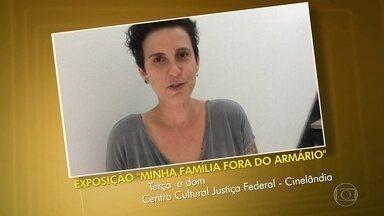 Dica do Telespectador - Exposição sobre as famílias LGBT do Rio de Janeiro, no Centro Cultural Justiça Federal