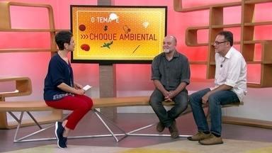 O tema é Choque Ambiental - Fernando Betim e Luciano Álvares dão dicas sobre sustentabilidade