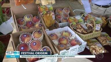 Alimentação saudável e sustentável é destaque no Festival Origem - O Memorial da América Latina recebe neste final de semana o Festival Origem. O evento conta com alimentação saudável e sustentável.