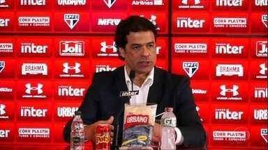 São Paulo apresenta Raí como novo diretor executivo de futebol da equipe - São Paulo apresenta Raí como novo diretor executivo de futebol da equipe