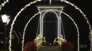 Programação do Natal em Carambeí segue neste fim de semana - Hoje à noite, a chegada do Papai Noel está prevista para as 20h15.