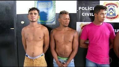Quadrilha de tráfico de drogas é presa; seis suspeitos são da mesma família - Quadrilha de tráfico de drogas é presa; seis suspeitos são da mesma família