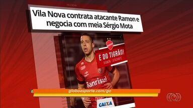 Vila Nova acerta com atacante Ramon e meia Sérgio Mota - Tigre anuncia os dois primeiros reforços para 2018
