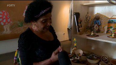 Artesãos expõem produtos na Casa de Cultura de Salgueiro - O espaço tem como objetivo enaltecer a cultura local.