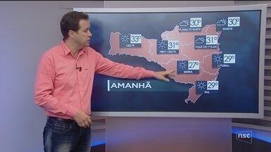 Veja como ficará o tempo em todas as regiões de SC neste sábado (9) - Veja como ficará o tempo em todas as regiões de SC neste sábado (9)