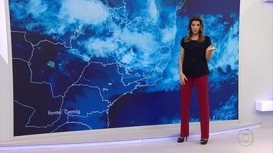 Veja a previsão do tempo para este sábado em MG - Chuva deve continuar