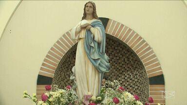 Fiéis celebram o dia de Nossa Senhora da Conceição, em São Luís - Sexta-feira foi de celebração com missas nas igrejas da capital maranhense