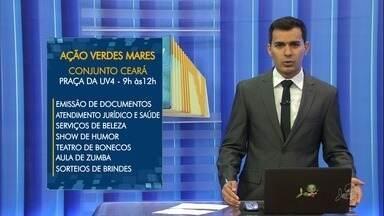 Conjunto Ceará recebe a última Ação Verdes Mares de 2017 - Confira mais notícias em G1.Globo.com/CE
