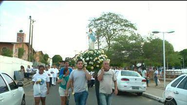 Teresinenses fazem procissão em homenagem a Nossa Senhora da Conceição - Teresinenses fazem procissão em homenagem a Nossa Senhora da Conceição