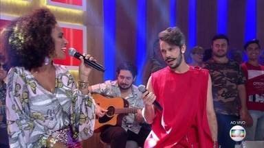 Mariene de Castro e Almério cantam 'Príncipe Brilhante' - Parceria entre os cantores surgiu em meio a improvisos musicais em uma festa