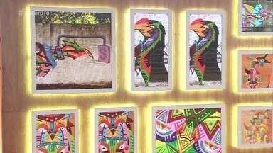 Telão do Encontro: Emol - Artista começou a trabalhar sob a influência do universo do grafite