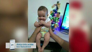 Telespectadores registram decoração natalina - As fotos são enviadas para o celular e aplicativo da RPC.