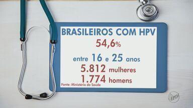 Mais da metade dos jovens brasileiros está infectada com o vírus HPV - Segundo estudo do Ministério da Saúde, o que mais preocupa é que 40% dos entrevistados, apresentaram tipos do vírus que podem desenvolver câncer