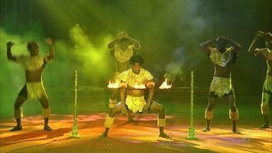 CETV mostra os bastidores do espetáculo circense em Fortaleza - Confira mais notícias em G1.Globo.com/CE