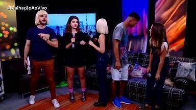 Ana Hikari canta nova música da Tina no Malhação Ao Vivo - Elenco dança ao lado da atriz