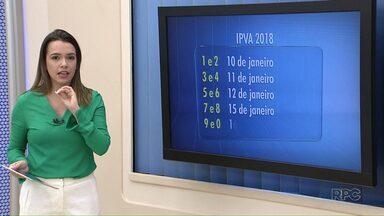 Saiba datas de vencimento para pagamento à vista do IPVA - O desconto para quem pagar à vista vai ser de 3%