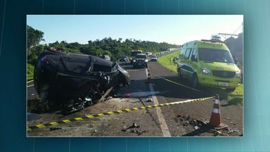 Seis pessoas morrem em acidentes nas rodovias da região durante o fim de semana - Outras 12 ficaram feridas.