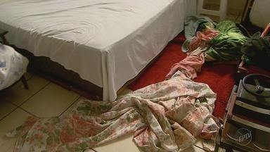 Criança que caiu do 3º andar após usar lençol para fugir segue internada em Ribeirão - Menina de 9 anos e os dois irmãos estavam sozinhos em casa por que a mãe tinha saído para trabalhar.