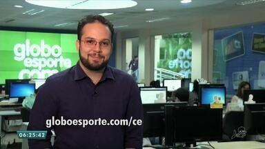 Veja os destaques do esporte do Bom Dia CE (12) - Saiba mais em g1.com.br/ce