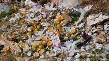 De Olho na Rua: moradores reclamam de lixão no bairro São Vicente, em Lavras (MG) - De Olho na Rua: moradores reclamam de lixão no bairro São Vicente, em Lavras (MG)