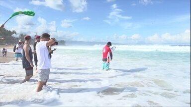 Veja como começou a disputa de Gabriel Medina no Havaí pelo bicampeonato mundial de surfe - Veja como começou a disputa de Gabriel Medina no Havaí pelo bicampeonato mundial de surfe