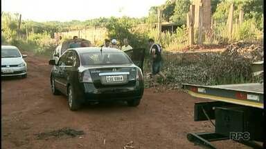 Turista que voltava do Paraguai é assaltado na BR-277, em Foz do Iguaçu - Os ladrões pegaram o carro e fizeram o turista refém, mas foram surpreendidos pela polícia.