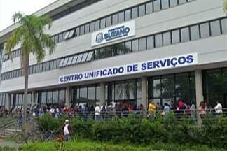 3 mil pessoas entregaram currículo para vagas em atacadista de Suzano - Ao todo são 150 vagas oferecidas.