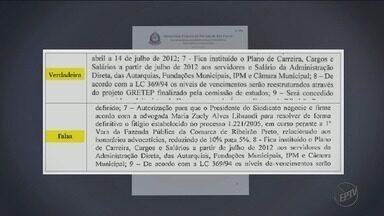 Documentos da Sevandija podem apontar início de pagamento de propina em Ribeirão Preto - Para o Gaeco, mensagens trazem indícios sobre esquema para fraudar atas de Sindicato dos Servidores Municipais.