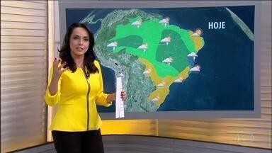 Veja a previsão do tempo para esta quarta (13), em todo o Brasil - As temperaturas voltam a subir em todas as capitais do Brasil que tiveram queda nos últimos dias.