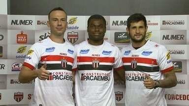 Botafogo-SP apresenta mais jogadores para a temporada de 2018 - Time estreia no Campeonato Paulista em 17 de janeiro contra o Bragantino.