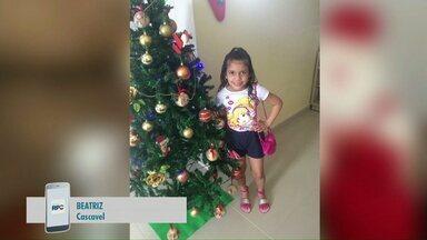 Fotos do Natal enfeitam telão do Paraná TV - Telespectadores estão enviando fotos da decoração de casa.