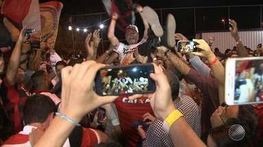 GE traz os detalhes da eleição do novo presidente do Vitória - Veja na chamada do esporte no Bahia Meio Dia.