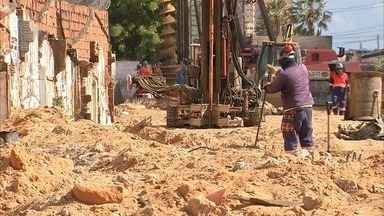 Obra na Via Expressa dificulta locomoção de moradores locais - Confira mais notícias em G1.globo.com/ce