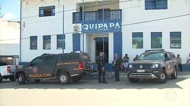 Operação investiga fraudes em licitações em Quipapá - Procurador-geral explica que investigação vai ser ampliada para outros contratos e locais.