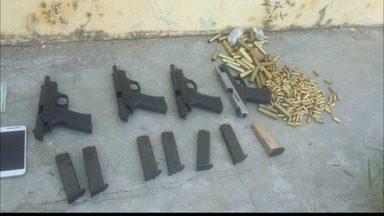 Doze pessoas presas na Paraíba durante operação da Polícia Civil - Os presos são suspeitos de homicídios, ataques a bancos e tráfico de drogas.