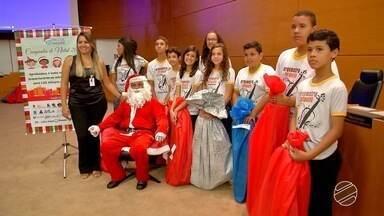 Campanha do TJ-MS distribui mais de 1,2 mil presentes a crianças de Campo Grande - O projeto do Tribunal de Justiça transforma o Natal de muitas crianças há oito anos.