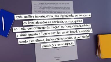 Vereadores arquivam CPI que investigava ouvidor municipal - O arquivamento foi aprovado com maioria dos votos da câmara.