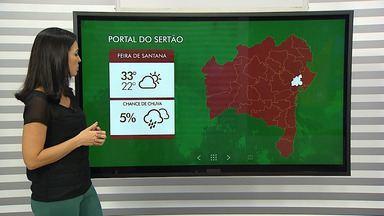 Previsão do tempo: regiões sul e sudoeste da Bahia devem ter mais chuva ao longo da semana - Em Feira de Santana também choveu na semana passada, mas nos próximos dias o tempo deve ficar seco.