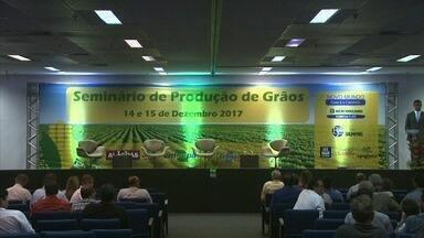 Resultado da produção de grãos no país e em Alagoas é apresentado em seminário em Maceió - Na oportunidade, foram debatidas pesquisas e foi feito um mapeamento de como anda a produção.