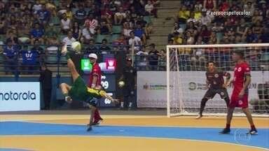 Craque Falcão esbanja talento e habilidade no Desafio dos Reis do Drible 2017 - Time do Brasil conquista a vitória em um verdadeiro show de habilidades