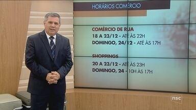 Comércio de Florianópolis tem horário especial a partir desta segunda-feira (18) - Comércio de Florianópolis tem horário especial a partir desta segunda-feira (18)