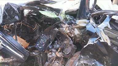 Cinco pessoas ficam feridas em acidentes na região - Fim de semana violento nas rodovias estaduais e federais