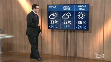 Veja a previsão do tempo nesta segunda-feira (18) no MA - Confira como deve ficar o tempo e a temperatura em São Luís e no Maranhão.