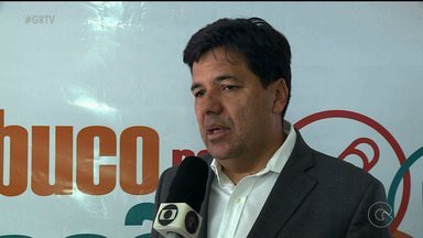 Ministro da Educação, Mendonça Filho, participa de evento em Petrolina nesta segunda (18) - O tema do evento é Analfabetismo.