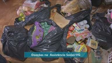 Doações para desabrigados podem ser feitas na Secretaria de Assistência Social de VG - Doações para desabrigados podem ser feitas na Secretaria de Assistência Social de VG