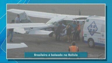 Brasileiro é baleado em San Ignácio, na Bolivia - Brasileiro é baleado em San Ignácio, na Bolívia